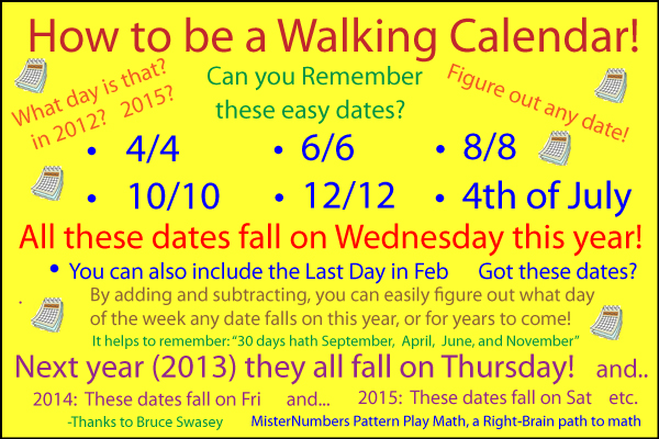 Walking Calendar Revised