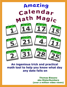 Amazing Calendar Math Magic cover3x4x72